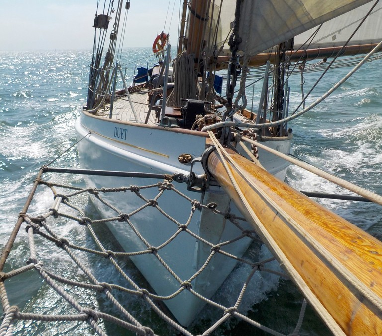 Tall Ships win for crewman Tom in Duet